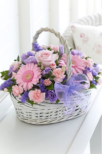 Basket in Pastels